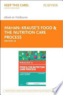 Krause's Food & the Nutrition Care Process Pageburst E-Book on VitalSource