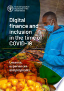 Digital finance and inclusion in the time of COVID-19