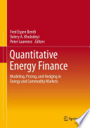 Quantitative Energy Finance Book