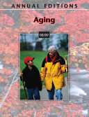 Annual Editions: Aging 08/09