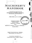 Machinery s handbook