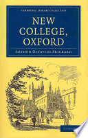 Read Online New College, Oxford For Free