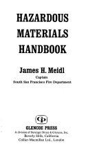 Hazardous Materials Handbook