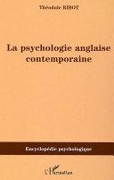 Pdf LA PSYCHOLOGIE ANGLAISE CONTEMPORAINE Telecharger