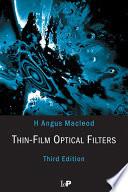 Thin Film Optical Filters Book PDF