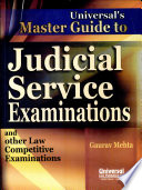 Universal's Master Guide to Judicial Service Examination