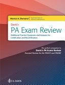 Diamond Pa Exam Review Questions
