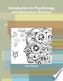 Introduction to Psychology and Behaviour Science