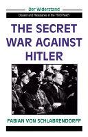 The Secret War Against Hitler [Pdf/ePub] eBook