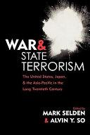 War and State Terrorism