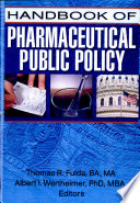 Handbook Of Pharmaceutical Public Policy Book PDF