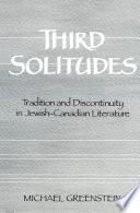 Third Solitudes Book PDF