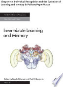 Invertebrate Learning and Memory Book