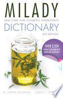 Skin Care and Cosmetic Ingredients Dictionary Book
