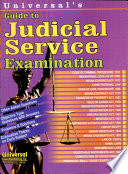 Universal S Guide To Judicial Service Examination