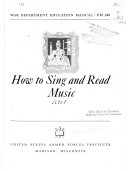 How to Sing and Read Music