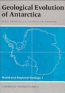 Geological Evolution of Antarctica ebook