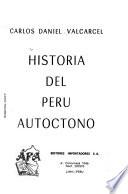 Historia del Perú autóctono
