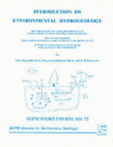 Introduction to Environmental Hydrogeology