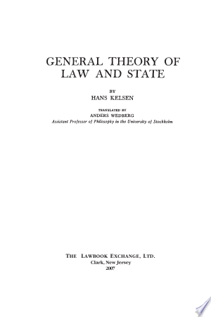 General+Theory+of+Law+and+State