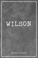 Wilson Weekly Planner