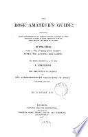 The rose amateur s guide Book