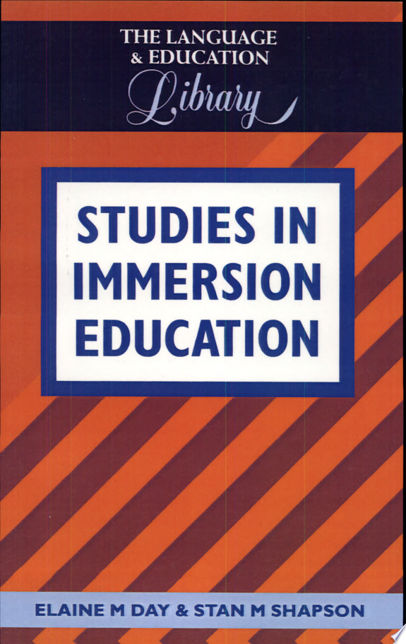 Studies in Immersion Education