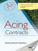 Darrow-Kleinhaus' Acing Contracts