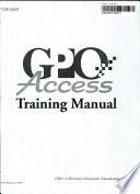 GPO Access Training Manual Book