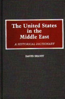 The United States In The Middle East