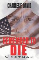 Remember to Die ebook