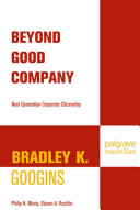 Pdf Beyond Good Company