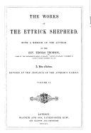 The Works of the Ettrick Shepherd
