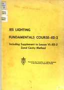 Lighting Fundamentals Course
