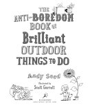The Anti Boredom Book Of Brilliant Outdoor Things To Do