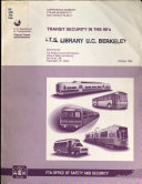 Transit Security in the 90's
