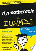 Hypnotherapie für Dummies