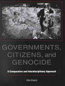 Governments  Citizens  and Genocide