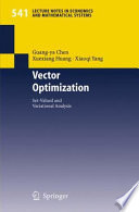 Vector Optimization