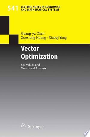 Download Vector Optimization Free PDF Books - Free PDF