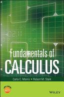 Fundamentals of Calculus Pdf/ePub eBook
