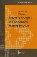 Fractal Concepts in Condensed Matter Physics [Pdf/ePub] eBook