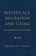 Birthplace, Migration and Crime Pdf/ePub eBook