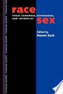 Race sex Book