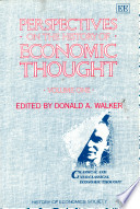 Perspectives On The History Of Economic Thought