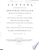 Letters Written By The Late Jonathan Swift And Several Of His Friends  Book PDF