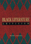 Black Literature Criticism  Emecheta Malcolm X