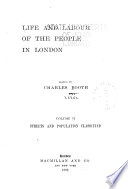 Life and Labour of the People in London Book PDF