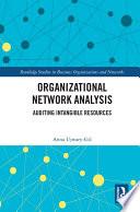 Organizational Network Analysis Book