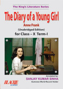 The Diary Of A Young Girl For Class – X Term-I